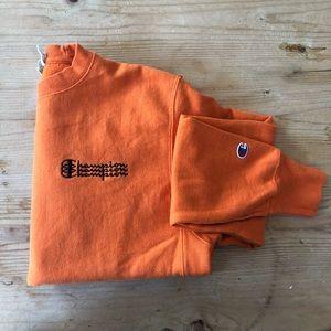 Champion Burnt Orange Reverse Weave Sweatshirt